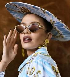 Stella Maxwell - Moschino Eyewear Spring-Summer 2019