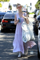 Elle Fanning - Shopping in West Hollywood 4/6/19