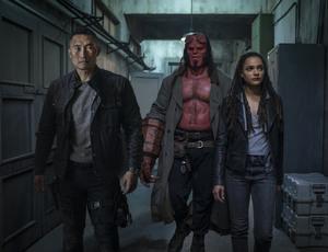 Хеллбой: Возрождение кровавой королевы / Hellboy (2019)Дэвид Харбор ,Мила Йовович 9be6511149387154