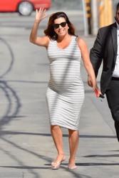 Eva Longoria - Arriving at Jimmy Kimmel Live 4/10/18