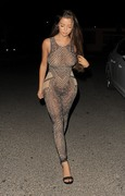 Demi Rose Mawby - Out for dinner in Ibiza 8/7/18