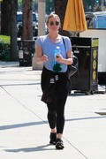Ashlee Simpson - Leaving the gym in LA 8/12/18