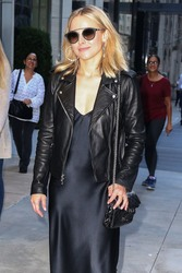 Kristen Bell - Arriving at Late Night with Seth Meyers in NYC 9/26/18