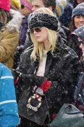 Elle Fanning - Attending the Respect Rally in Park City, Utah 1/20/18