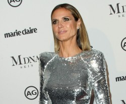Heidi Klum - Marie Claire's Image Makers Awards 2018 in West Hollywood 1/11/18