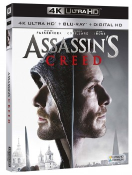 Assassin's creed (2016) Full Blu-Ray 4K 2160p UHD HDR 10Bits HEVC ITA DTS 5.1 ENG TrueHD 7.1 MULTI