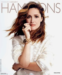 Rose Byrne -                                   Hamptons Magazine July 2018.