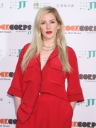 Ellie Goulding - RockCorps photocall in Chiba, Japan 9/1/18