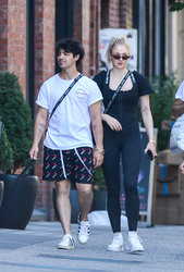Sophie Turner - Out in NYC 7/19/18