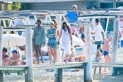 Camila Morrone - Leaving Club 55 in St-Tropez 7/29/18