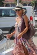 Brooke Burke - Shopping in Malibu 7/7/18