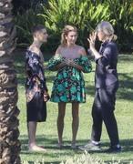 Hailey Baldwin - Wearing a bikini on set of a photoshoot in LA 12/4/2018 0fa98e1053697044