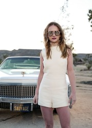 Britt Robertson - Dior Sauvage Party in Pioneertown 04/12/2018