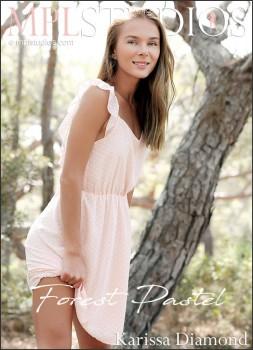 Katie A Karissa Diamond - Forest Pastel