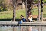 Selena Gomez at Lake Balboa park in Encino 02/02/2018d3c5ba737644333
