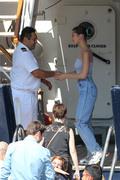 Bella Hadid boarding a yacht in Monaco 05/25/2018231e80876374644