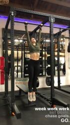 Sophia Bush Working Out at Vitru Gym in Los Angeles - 1/31/18 Instagram