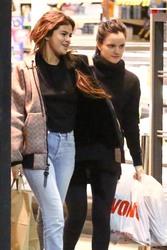 Selena Gomez - Shopping at Vons Supermarket in LA 2/21/18
