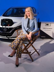 Margot Robbie - At the Geneva Motor Show 2/13/18