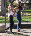 Selena Gomez at Lake Balboa park in Encino 02/02/2018e8150e737638103