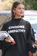 Selena Gomez - Out for lunch in Studio City 3/25/18