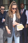 Jessica Alba - Leaving a meeting in NYC 7/24/2018 400de1931388634