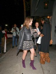 Sophia Bush - Out for dinner in West Hollywood 9/22/18