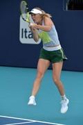 Caroline Wozniacki -          Miami Open Tennis Tournament Practice March 16th 2019.
