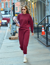 Gigi Hadid - Out in NYC 12/7/18