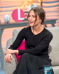 Alicia Vikander - 'Lorraine' TV show in London 3/6/18