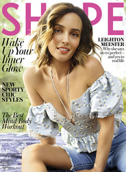 Leighton Meester - Shape Magazine April 2019