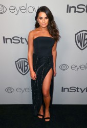 Lea Michele - The 2018 InStyle And Warner Bros. 75th Annual Golden Globe Awards Post-Party in Beverly Hills 1/7/18