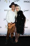 """Ashlee Simpson -  Jennifer Lopez Release of New Single """"Dinero"""" in Las Vegas 5/20/18"""
