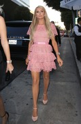 Paris Hilton -                                TOTALEE Hair Salon Opening Beverly Hills June 28th 2018.