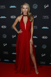 Olivia Jordan - Sports Illustrated Swimsuit 2018 Launch Event in NYC 2/14/18