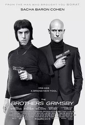 王牌贱谍:格林斯比 The Brothers Grimsby_海报