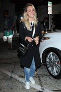 Kaley Cuoco - Leaving Craig's in West Hollywood 8/16/18