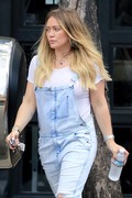 Hilary Duff - Leaving FitBox in LA 6/15/18