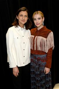 Emma Roberts - Longchamp Fashion Show in NYC 2/9/19
