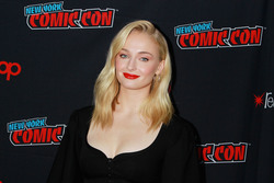 Sophie Turner - Attends the 'Dark Phoenix' film panel at NYCC - October 5, 2018