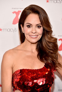 Brooke Burke - The American Heart Association's Go Red For Women Red Dress Collection 2019 in NYC 2/7/19