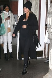 Chrissy Teigen - Shopping in NYC 3/26/18