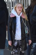 Dakota Fanning - Out in NYC 3/26/18