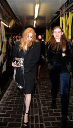 Ellie Bamber - Arrives at Box Night Club in London 2/2/18