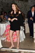 Lily Collins - Gala Dinner at Mezzatorre Hotel during the Ischia Global Film and Music Festival 7/19/18