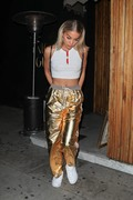 Jasmine Sanders -                      Delilah Belle Hamlin's 20th Birthday Celebration West Hollywood June 10th 2018.