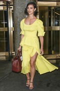 Morena Baccarin - All Smiles On Her Way To A Photoshoot In NYC (5/16/18)