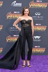 "Elizabeth Olsen - Premiere Of Disney And Marvel's ""Avengers: Infinity War"" in LA 4/23/18"