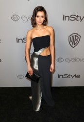 Nina Dobrev - The 2018 InStyle And Warner Bros. 75th Annual Golden Globe Awards Post-Party in Beverly Hills 1/7/18