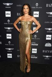 Shanina Shaik - Harper's Bazaar Icons Party in NYC 9/7/18